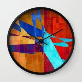 flash flood Wall Clock
