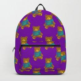TEDDY BEAR PATTERN Backpack