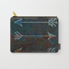 Arrow minded with texture Carry-All Pouch