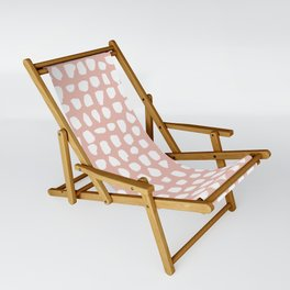 Dots / Pink Sling Chair