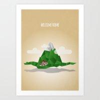 Welcome Home Art Print