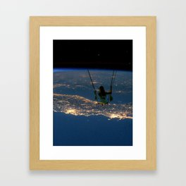 """Big Swing Thing"" Framed Art Print"