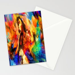 Gold Horse Stationery Cards