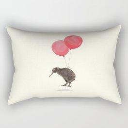 Kiwi Bird Can Fly Rectangular Pillow