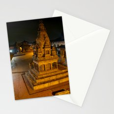 Durbar Square at Night Bhaktapur Stationery Cards