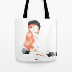 French coffee Tote Bag