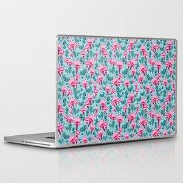 Pink & Teal Lovely Floral Laptop & iPad Skin
