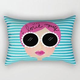 I love myself Rectangular Pillow