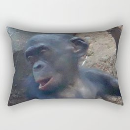 Adorable Chimp Baby Rectangular Pillow