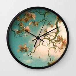 Magnolia Falls Wall Clock