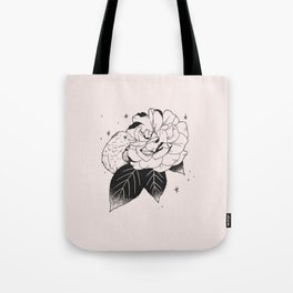 Rose and Sparrow Tote Bag