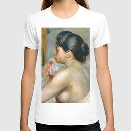 "Auguste Renoir (1841-1919) ""Dark-Haired Woman"" T-shirt"