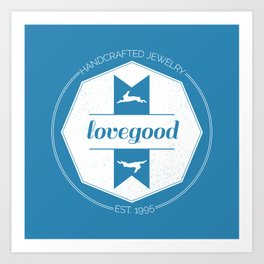 Lovegood Handcrafted Jewelry Art Print