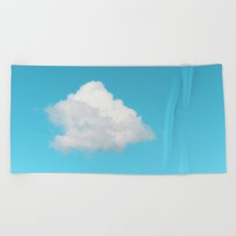Happy Cloud Beach Towel