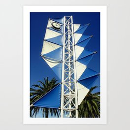 Wind Sails Art Print