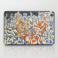 inception iPad Cases featuring Concerted Inception by Eric Walker