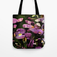 Abstract Wldflowers Tote Bag