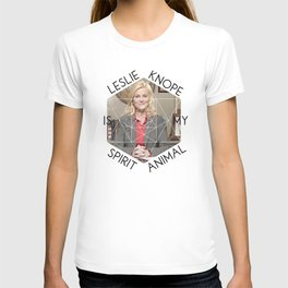 Leslie Knope is My Spirit Animal T-shirt