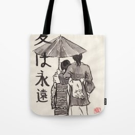 Kasa (Umbrella) Tote Bag