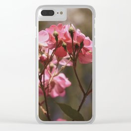 Flower XVII Clear iPhone Case