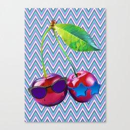 Cherry Sis Canvas Print