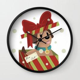 Santa knows Best Wall Clock