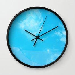 Sky Swimming pool Wall Clock