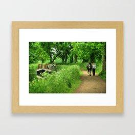 Tivertonian Spring Framed Art Print