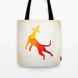 Abstract dog Tote Bag