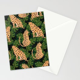 Cheetah Pattern Stationery Cards
