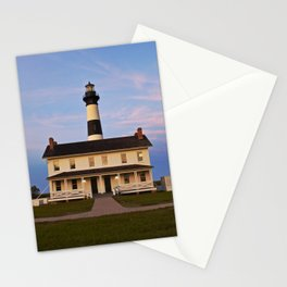 Bodie Island Lighthouse at Sunset Stationery Cards