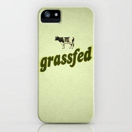 Grassfed iPhone Case
