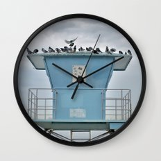 Tired of the City Wall Clock