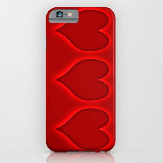 Love hearts 2 iPhone & iPod Case