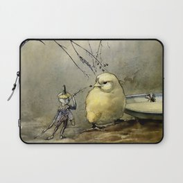 """Bother the Gnat"" by Duncan Carse Laptop Sleeve"