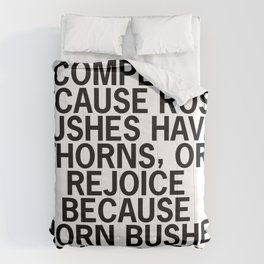 Abraham Lincoln Rose Quote Comforters