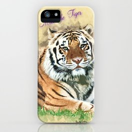 Mike the Tiger iPhone Case