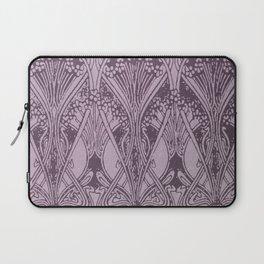 Lavender,art nouveau,vintage,beautiful,floral,belle époque,pattern,elegant, chic,modern,trendy Laptop Sleeve