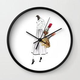 Lady Birdy Wall Clock