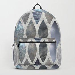 Metallic Armour Backpack