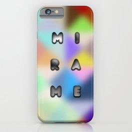 look at me design iPhone Case