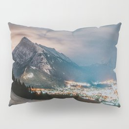 Banff at night Pillow Sham