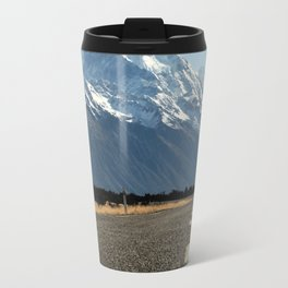 On the Road to Mt. Cook Travel Mug