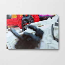 I AM METROPLEX.....AND I WILL F$%# YOU UP!!! Metal Print