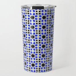 Azulejo, Geometric Pattern Travel Mug