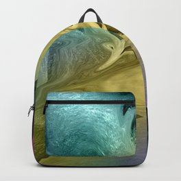 Liquid Abstract Backpack