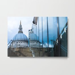 Blue Dome Metal Print