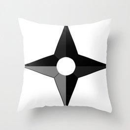 Shuriken Throw Pillow