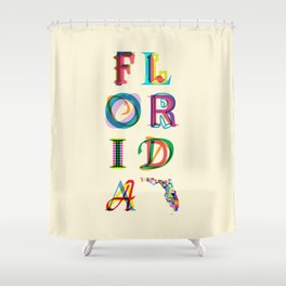 Florida Shower Curtain