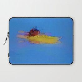 Touching Heaven    -   Kayaker Laptop Sleeve